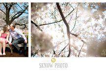 Creative Engagement Portraits / Creative engagement portraits, unique save the date poses, beautiful engagement photos