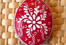 Mandala - painted rocks