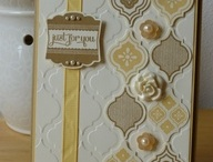 new Mosaic madness stampin up card ideas / the new Mosaic madness embossing folder and punch set that I really really want