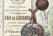 Carteles perfumrtia vintage