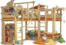 bunk bed jungle gym