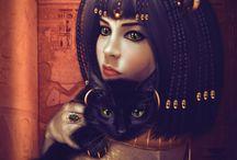 Egyiptom - Istennők
