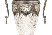 Старинное столовое серебро