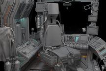 Spacecraft Cockpit / Spacecraft Cockpit