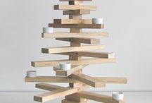 Weihnachten alles aus Holz