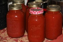 Preserving food / How to preserve tomatoes and other vegetables.and how to make great tomato juice