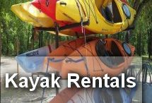 Kayak Rentals Myrtle Beach / Renting kayaks in Myrtle Beach to go on your own kayaking adventure and expedition.