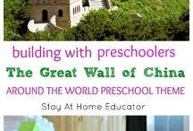 Around the world preschool theme