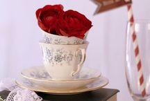 rose tea party