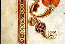 Enluminures, calligraphie