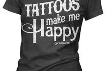 Tattoo Haves and Wants  / a list of upcoming tattoos i want or like