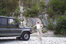 Мои поездки по России / Очень люблю путешествовать по нашей стране на авто.