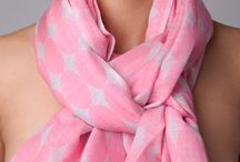 Red and pink women's shawls from The Thread Orchard / Red and pink women's shawls in cashmere, merino and silk.
