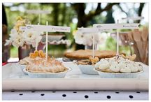 Trade In Your Wedding Cake / Wedding ideas for a pie bar, ice cream station, etc. Alternative wedding desserts for couples who don't like cake.