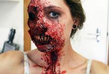 Maquillage Zombie et autres