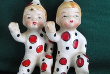 Vintage Collectible Pixies / Ceramic Figurines / by John Taylor