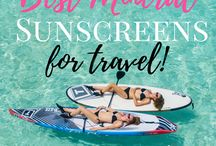 Beauty Products for Travel / Best beauty products for travel! Including fashion, bikinis, rompers, & organic beauty products.