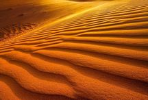 desert and sand