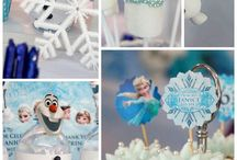 Frozen Birthday Theme / by Isabelle Angers