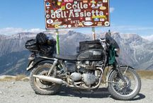 touring motorcycle / travel motorcycle