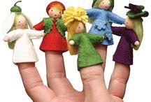 Пальчиковые куклы