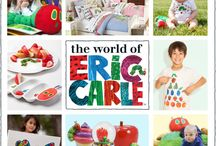 """The World Of Eric Carle / A board dedicated to the magical world of Eric Carle, creator of """"The Very Hungry Caterpillar,"""" """"Brown Bear, Brown Bear, What Do You See?"""" and many more children's classics. Shop for Eric Carle products on our site: http://www.thejunglestore.com/Gift-Catalog/Kids-Preferred"""