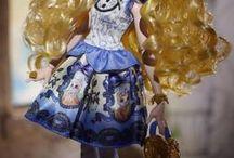 Barbie house theme blondie room