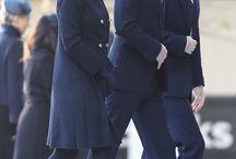 William, Kate, Harry & Meghan