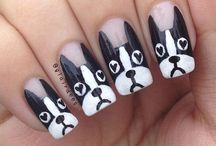 cute dog nails