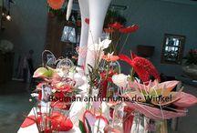Moederdag met anthuriums / Mooi bloemwerk voor Moederdag met anthuriums