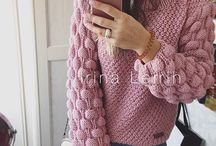 swetry na drutach/knitting sweater