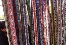 Weaving / Various types of patterned folk weaving
