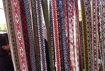 Weaving / Various types of patterned folk weaving
