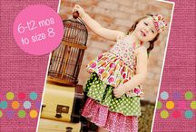 Girls Dresses Sleeveless PDF Sewing Patterns