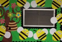 Bee bulletin board idea / This page has a lot of free Bee bulletin board idea for kids,parents and preschool teachers.