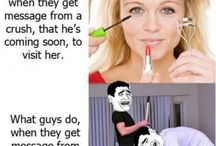 Men vs Women / Differences between men and women, all with a smile.
