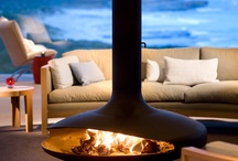 Winter Means Fireplace / We have had some bitterly cold mornings here on the tail end of Australia. Doesn't the idea of a roaring fire sound awesome? These fireplaces will light up your inspiration!  Full Blog Post Here: http://www.tilejunket.com.au/in-my-home/fireplace-image-gallery/