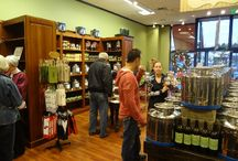 How the Store Works / How we sample, bottle, and seal our Olive Oils & vinegars