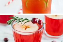 mocktails (drinks without alcohol)