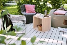 pur natur terrace / These are our decking boards made of solid douglas. Experience the »Alpin« and the »Kollin« sorting.