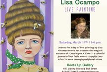 Events @ Roots Up Gallery