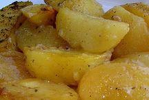 Greel potatoes