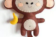 Monkey felt