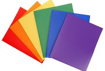 STEMSFX on Amazon / Durable office products and classroom accessories to keep you organized and colorful! #colorfulplasticfolders