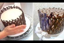 Schokoumrandung fuer torte