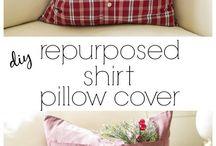 Shirt pillow covers