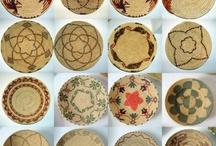 Cestini della Sardegna e non / Cestini sardi, ceste, canestri, intrecci, cestineria, baskets, woven baskets wall art, woven baskets