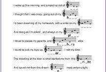 Music teaching idedas