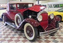 Legendary Packards / The Murphy Auto Museum in Oxnard, CA was originally built to house the founders large Packard collection. Soon, others inquired about keeping their cars with his and the Museum was born.
