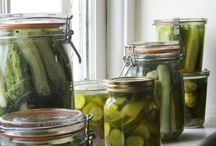 Recipes: In a pickle / Pickling recipes and techniques / by Panagiota Koutsoulis